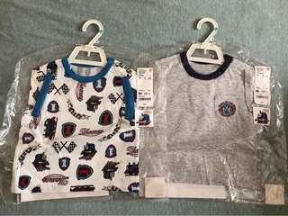 全新未開封 Thomas&Friends短袖T恤2件(包順豐站自取)