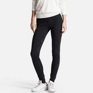uniqlo striped leggings