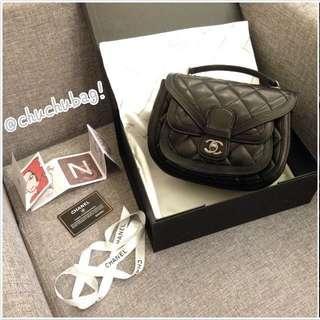 實拍 Chanel 塞爾茲堡系列口袋包