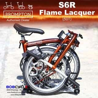🚚 BROMPTON S6R Flame Lacquer
