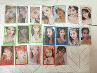Twice summer night photocard