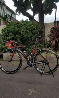 java full carbon (shimano 105 11speed ) good condition. size XS