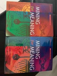 Mining for Meaning (2 books)