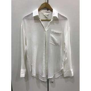 🚚 H&M白襯衫
