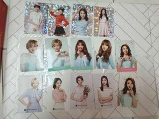 Twice twiceland , nature collection photocard