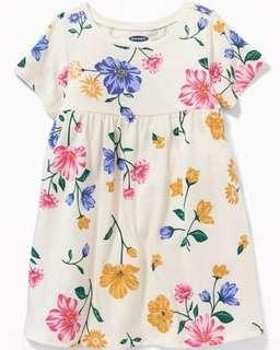 350 only! Brand New Old Navy Jersey dress! Fits 12 to 18 months!