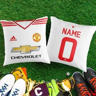 CUSTOMIZED MANCHESTER UNITED DECORATIVE PILLOW