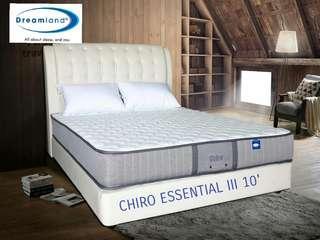 DREAMLAND MATTRESS CHIRO ESSENTIAL 3