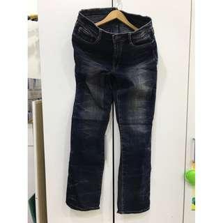 🚚 男版黑牛仔褲XL號