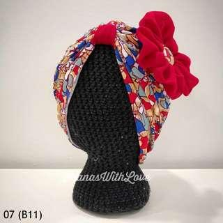 🚚 Zahra Baby/Kids Turban 07 (Batch 11)