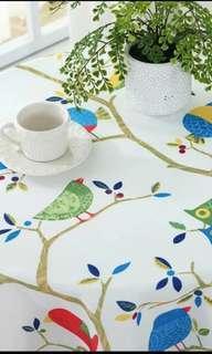 Table cloth Bird prints
