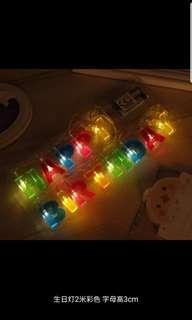 Led生日字母燈串