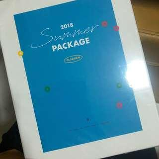 BTS Summer Package 2018 Complete Set With jhope guide book