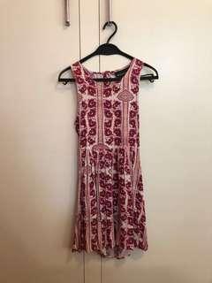 Minkpink Pink Floral Summer Dress