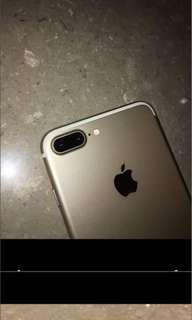 iPhone 7plus good 128gb