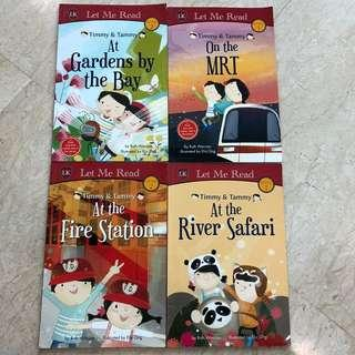 🚚 Timmy and Tammy books set