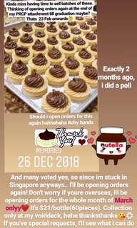 🚚 Nutella Tarts