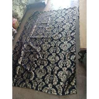 Elegant Design Black and Gold Curtain