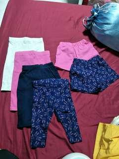 🚚 3-6 mothercare leggings and short