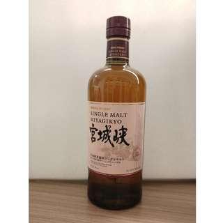 Nikka Whisky 宮城峽 Single Malt 單一純麥威士忌 700ML