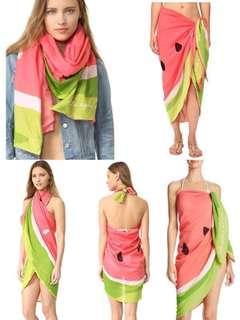 Kate Spade multifunctional watermelon scarf
