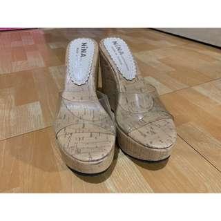 🚚 *Xiou's衣櫥* 基本款楔型鞋 37號