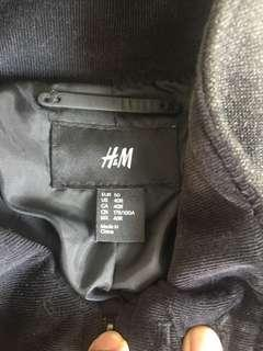 H&M Jacket Black 95% New