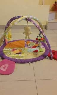 Baby Play Gym with soft pillow head