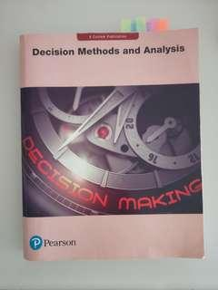 Decision Methods and Analysis