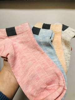 全新四對短襪