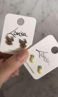 🚚 lovisa earnings - reindeer and pineapple
