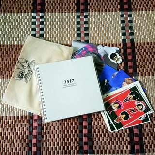 Junhyung&Hyunseung Fansite Diary (including freebies)