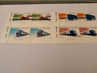 2006-30T 和諧鐵路建設郵票兩套