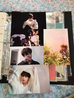 BTS V/TAEHYUNG OFFICIAL LIVE PHOTO SET