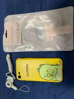 🚚 Iphone 7/8 cover with lanyard