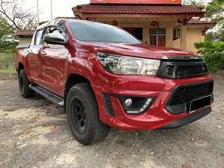 Toyota Hilux 2.4G (M) Full Loan