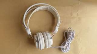 🈹大海綿軟墊隔音耳機塑膠 頭戴式兒童能調教可調節長度頭圍
