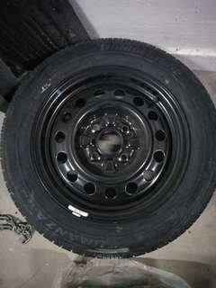Cs3 spare tyre