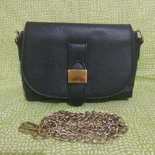 FREE ONGKIR JABODETABEK sling bag hitam