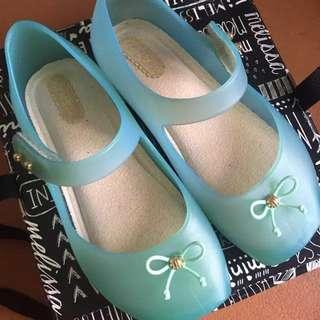 Mini Melissa ballete size 9 like new