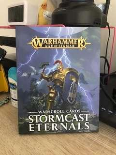Warhammer Warscroll Cards