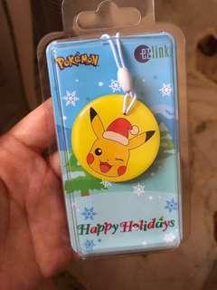 Ezlink Card Charm Pikachu Christmas Edition Limited edition Pokémon