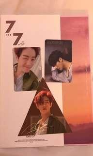 WTS GOT7 7 for 7 album PC ONLY