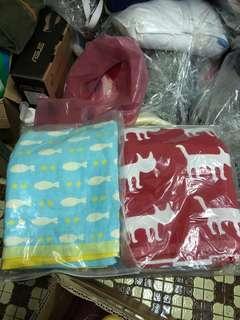 🚚 日本四層紗浴巾