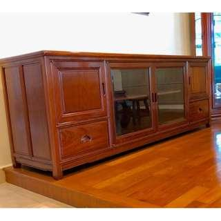 RoseWood TV sideboard console