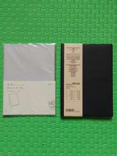 Midori A5 Notebook Cover with Muji Planner