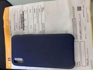 原裝iPhone xs皮套(X兼用)