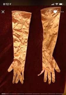 晚裝長手套
