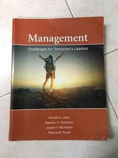 Management : Challenges for Tomorrow's Leaders