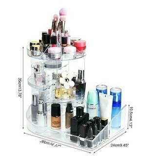 Rotatable Makeup Organizer